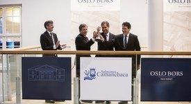 Los dos rentables años de Salmones Camanchaca en la Bolsa de Oslo