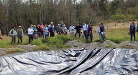 Tribunal Ambiental de Valdivia inspeccionó vertederos de Dicham