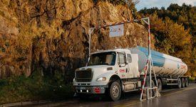 Blumar y SalmonChile instalan arco sanitario para Puerto Aysén