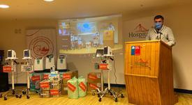 Aysén: Salmonicultores realizan masiva donación a Servicio de Salud