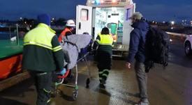 Autoridad Marítima apoya evacuación médica desde centro salmonicultor