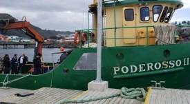 Avanza investigación por muerte de buzo en nave de servicios a salmonicultora