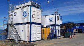Productor de hielo líquido para preservación de alimentos crece en la salmonicultura