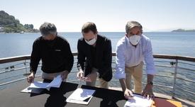 AquaChile, Innovex y otras entidades lanzan monitoreo ambiental en lago Llanquihue