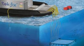 Proveedor salmonicultor abre nueva área para remediación de fondos marinos