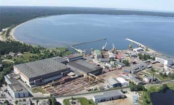 Lindø puts Loksa Shipyard up for sale
