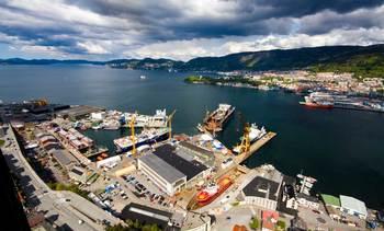 Bergen Group Shipbuilding slår seg sammen med europeisk skipsbygger