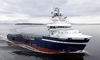 Tok levering av nytt PSV fartøy