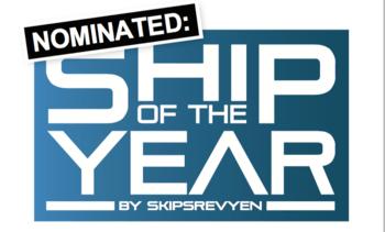 Flotte skip nominert til Ship of the Year 2015
