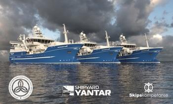 Norsk design til russiske fiskebåter