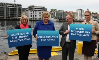 Regjeringens havstrategi: Økt samarbeid på tvers av næringene