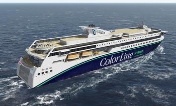 Color Line-kontrakt formelt i havn