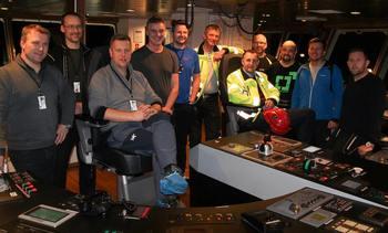 Leverte brønnbåten «Namsos» til Norsk Fisketransport