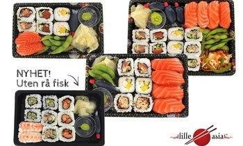 Lerøy lanserer nye sushismaker