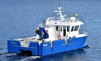 Leverte ny båt til SalMar Organic