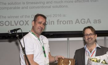 Ny DVH-pris til AGA på Industriens motemesse