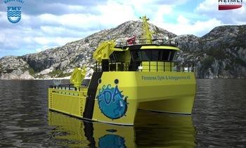 FMV skal levere arbeidsbåt til Finnsnes Dykk og Anleggservice