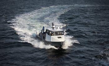 Tuco Marine leverte arbeidsbåt til AKVA Group