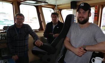 Om bord frakteskipet MS Feed Balsfjord