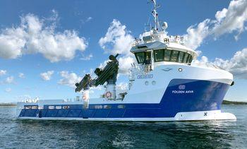 Folden Akvas nye fartøy bygges for tøffe værforhold