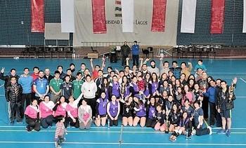 Con éxito finalizó tercer Campeonato de Vóleibol Inter-Empresas 2017