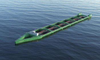Podrán construir gigantesca embarcación para cultivar salmones