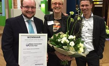 """Pentair recibe premio anual """"Innovación en Agua"""""""