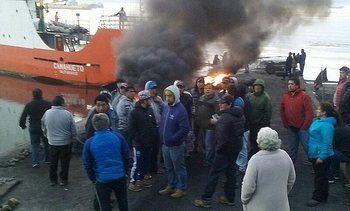 Blockades stop Chilean exports