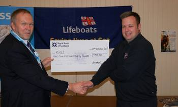 Shellfish growers push the boat out for RNLI