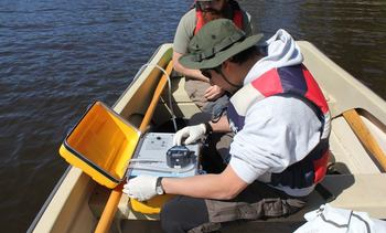 Detecting infection before fish get sick