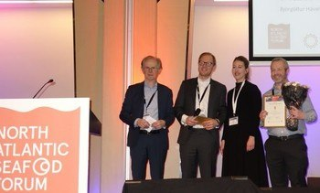 Scottish firm scoops award at Norway seafood event