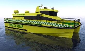 GulenSkyss vant ambulansekontrakt - bygger ny båt