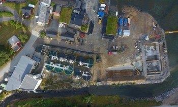 Astafjord Smolt legger om produksjonen med nytt RAS-anlegg