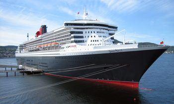 Cruiseturister forhindret av vær og vind