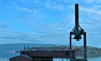 Økt malmutskiping i Narvik