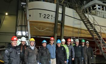 Ny fiskebåt sikrer sysselsettingen