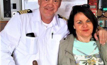 Cruisekapteinen som har sommerjobb i Aurlandsfjorden