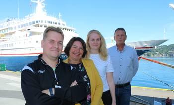 Møt Skipsrevyen på Nor-Fishing: – Det er på fiskerimessen det skjer