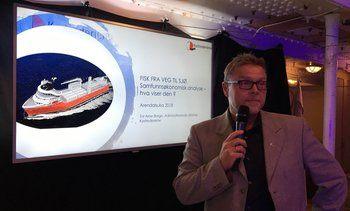 - Sjøtransport kan redusere klimagassutslipp med over 70 %