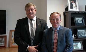 Minister seeks to keep Norway-UK trade door open