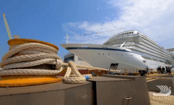 Døper «Viking Jupiter»  på Nor-Shipping