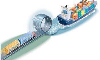 Ytterligere 1,8 millioner tonn gods skal overføres fra vei til sjø