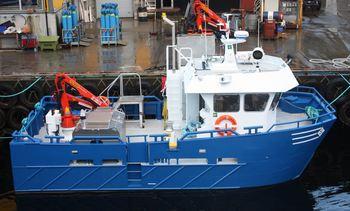 «Oddmund» klar til dyst for Knutshaugfisk