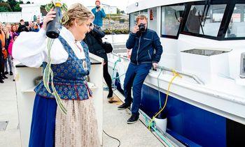 Nytt fartøy fra Åkerblå døpt