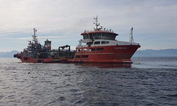Seikongen: Dan por finalizada descarga de lodos de salmón