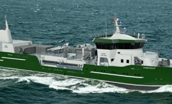 Ballast-vannrensesystem til brønnbåt