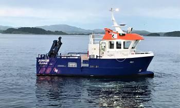 «Junior» levert til Sandnes Fiskeoppdrett