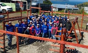 """Skretting celebró """"Día de la Comunidad"""" apoyando a población Laderas de Angelmó"""
