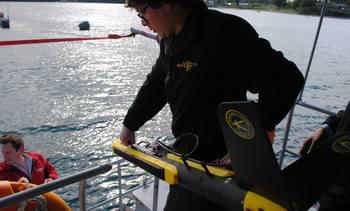 En Chile: Klein Instruments presentó sonares para acuicultura
