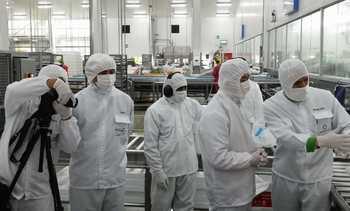 Televisión Central de China recorrió instalaciones de Multiexport Foods